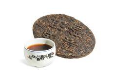 kinesisk tea för erhpu-puer Royaltyfri Bild