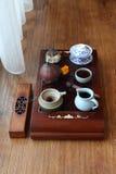 Kinesisk teaceremoni Royaltyfri Foto