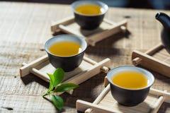 Kinesisk teaceremoni Fotografering för Bildbyråer