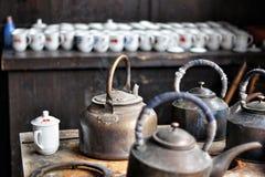 kinesisk teahouse Royaltyfri Fotografi
