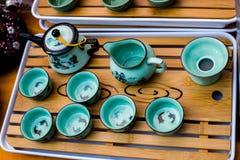 kinesisk teapot Royaltyfri Bild