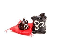 kinesisk teapot royaltyfria bilder