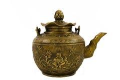kinesisk teapot arkivfoto