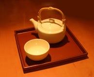 kinesisk teapot Arkivbilder