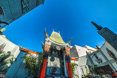 Kinesisk teater för TCL i den Hollywood boulevarden royaltyfri foto
