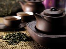 Kinesisk teauppsättning Royaltyfri Fotografi