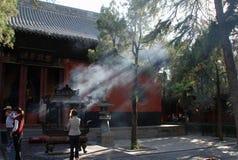 Kinesisk tempel Royaltyfria Bilder