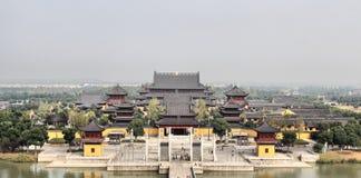 Kinesisk tempel Arkivfoto