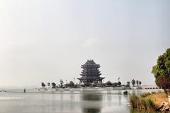 Kinesisk tempel Arkivfoton
