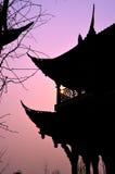 Kinesisk tempel Arkivbilder