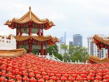 Kinesisk tempel Arkivbild