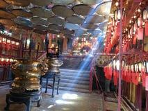 Kinesisk tempel i den Hong Kong Buddha Buddhism religionen royaltyfri foto