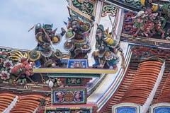 Kinesisk tempel i den Malacca staden Royaltyfri Foto