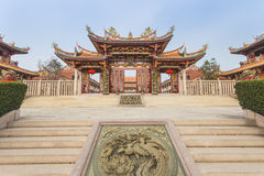 Kinesisk tempel i Macao Royaltyfri Foto