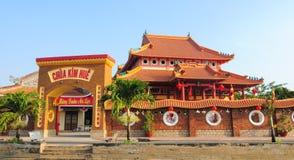 Kinesisk tempel i Vietnam Arkivfoton