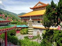 Kinesisk tempel Kek Lok Si arkivbild