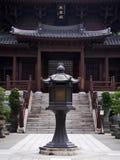 Kinesisk tempelpagod i Hong Kong Fotografering för Bildbyråer