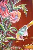kinesisk tempelvägg för konst arkivbilder