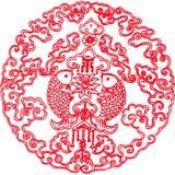 kinesisk textur Royaltyfri Fotografi