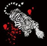 kinesisk tiger Arkivbilder