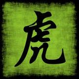 kinesisk tigerzodiac Arkivfoto