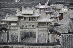kinesisk torii royaltyfria foton