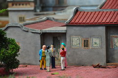 kinesisk town Royaltyfri Foto