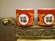 Kinesisk tradition ber objekt Royaltyfria Bilder