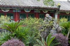 Kinesisk traditionell arkitektur Arkivbild