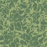 Kinesisk traditionell grön sömlös textur Vektor Illustrationer
