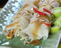 Kinesisk traditionell mat för vårrullar Royaltyfria Bilder