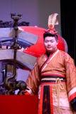 Kinesisk traditionell musikal och kulturell händelse arkivfoto
