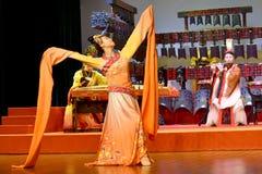 Kinesisk traditionell musikal och kulturell händelse royaltyfri fotografi