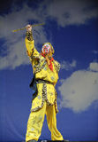Kinesisk traditionell operaskådespelare Arkivfoto
