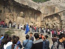 Kinesisk turism Fotografering för Bildbyråer