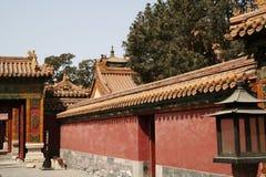 kinesisk vägg Arkivbilder
