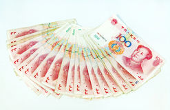 kinesisk valuta Arkivfoto