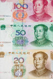 kinesisk valuta Royaltyfri Foto