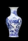 kinesisk vase Arkivfoto