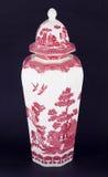 kinesisk vase Arkivbild