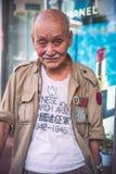 Kinesisk veteran för expeditions- styrka Royaltyfri Fotografi