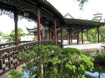 kinesisk walkway Fotografering för Bildbyråer