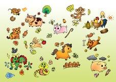 Kinesisk zodiak Fotografering för Bildbyråer