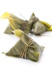 kinesisk zongzi Arkivfoto