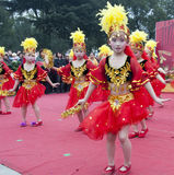 kinesiska barn Arkivfoton