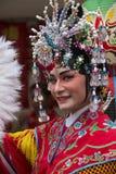 Kinesiska berömmar för nytt år - Bangkok - Thailand Arkivfoton