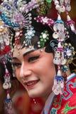 Kinesiska berömmar för nytt år - Bangkok - Thailand Royaltyfri Fotografi