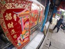 Kinesiska billiga prydnadssaker Arkivbild