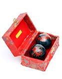 kinesiska bollar Royaltyfri Fotografi