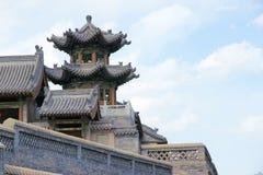 kinesiska byggnader Arkivbild